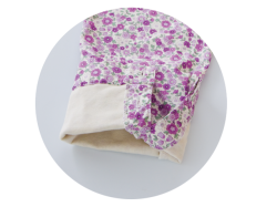 エンゼル オーガニックパジャマNKY-551 上衣(婦人用) 袖口